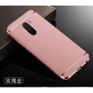 Xiaomi Pocophone F1 Redmi Note 6 Pro 3 in 1 Hard Case Cover Casing