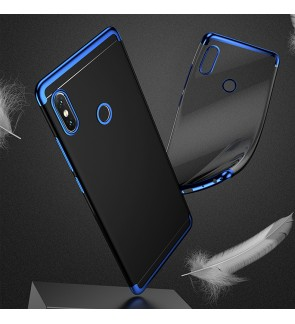Xiaomi Mi Mix 3 Redmi Note 7 Redmi Go Mi 9 SE Soft Case Cover Casing Housing Electroplate