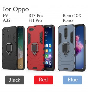 Oppo F11 Pro F9 A3S Reno 10X Zoom R17 Pro Car Holder Case Cover Casing Back Full Protection