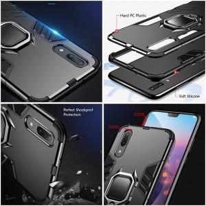 Huawei Y9 2019 Nova 3E Nova 3 Nova 3i Nova 4 Case Cover Full Car Holder Back