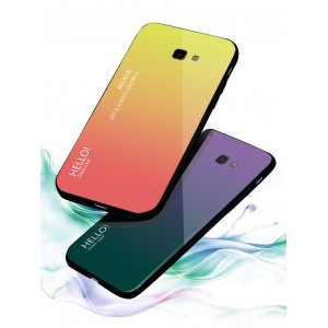 Samsung Galaxy J4 Plus J6 Plus Case Cover Casing Tempered Glass Aurora Housing
