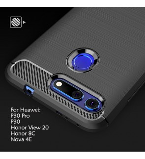 Huawei P30 Pro Nova 4E Honor V20 Honor 8C View 20 Case Cover Casing TPU Soft