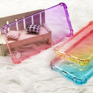 Vivo Y91 Y91i Y95 Y81 Y81i Y91C Casing Case Cover Air Bag Anti Shock Housing Rainbow