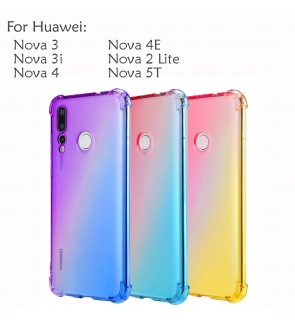 Huawei Nova 5T Nova 4 4E Nova 3 3i Nova 2 Lite Casing Case Cover Air Bag Anti Shock Housing