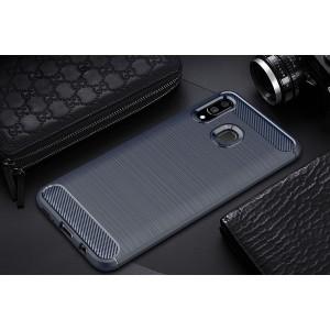 Samsung A20 A70 M10 TPU Silicone Soft Case Cover Casing Brushed
