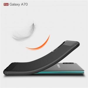 Samsung Note 10 Plus 10+ A20 A70 A80 M10 A10STPU Silicone Soft Case Cover Casing Brushed Housing