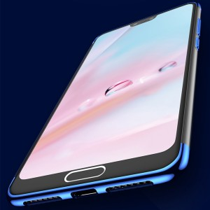 Vivo Y17 TPU Soft Case Cover Casing Electroplate