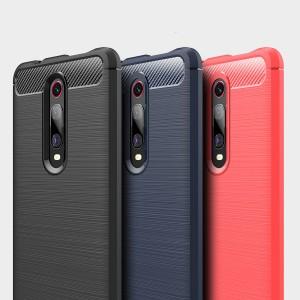Xiaomi Mi 9T Mi A3 Redmi 7A TPU Silicone Soft Case Cover Casing Brushed Housing