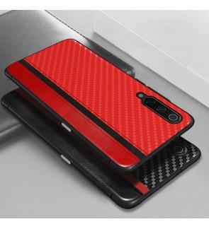 Xiaomi Mi 9 Carbon Fiber Back Cover Case Mulsae Casing Housing