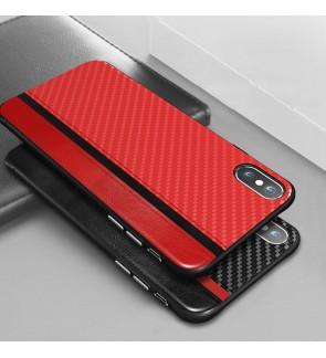 Iphone 6 6s Plus 7 8 Plus Iphone X XS Max XR Back Case Cover Casing Housing Carbon Fiber