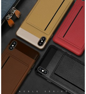 Iphone 6 6S Plus Iphone 7 8 Plus Iphone X XS Max XR Back Case Cover Casing Housing Noble