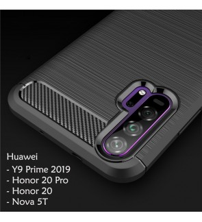 Huawei Nova 5T Y9 Prime 2019 Honor 20 Pro TPU Silicone Soft Case Cover Casing Housing