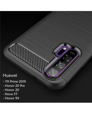 Huawei Nova 5T Y9 Prime 2019 Honor 20 Pro Honor 9X TPU Silicone Soft Case Cover Casing Housing