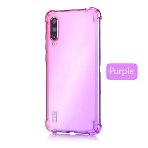 Xiaomi Redmi 7A Mi A3 Casing Case Cover Air Bag Rainbow Housing