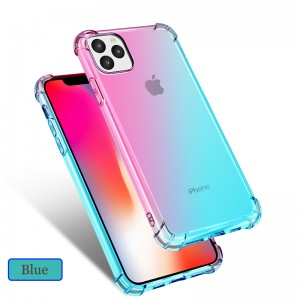 Iphone 11 Iphone 11 Pro Max Casing Case Cover Air Bag Anti Shock Rainbow Housing