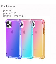 Iphone 11 Iphone 11 Pro Max Casing Case Cover Air Bag Anti Shock Rainbow Housing
