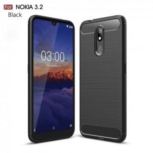 Nokia X71 Nokia 2.2 Nokia 3.2 Nokia 4.2 TPU Silicone Soft Case Cover Casing Brushed Housing