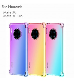 Huawei Mate 30 Mate 30 Pro Rainbow Antishock Soft Casing Case Cover Air Bag Housing