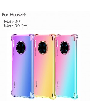 Huawei Mate 30 Mate 30 Pro Y9S Honor 9X Rainbow Antishock Soft Casing Case Cover Air Bag Housing