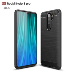 Xiaomi Redmi Note 8 Note 8 Pro Redmi 8 Mi Note 10 Pro TPU Silicone Soft Case Cover Casing Brushed Housing