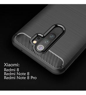 Xiaomi Redmi Note 8 Note 8 Pro Redmi 8 TPU Silicone Soft Case Cover Casing Brushed Housing