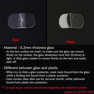 Vivo V17 Pro S1 Pro Y19 Nex 3 Crystal Clear Full HD Camera Lens Protector Tempered Glass Pelindung Kamera Kaca