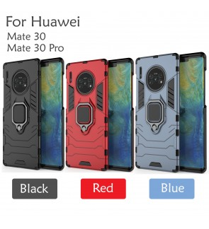 Huawei Mate 30 Mate 30 Pro Car Holder Case Cover Casing Full Protection Stand Back Housing