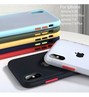 Iphone 6 6S 7 8 Plus Phantom Series Back Casing Cover Case Colorful Housing