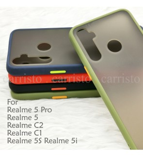Realme 5 Pro Realme 5 Realme 5S 5i Realme C1 C2 Phantom Series Back Casing Cover Case Colorful Housing