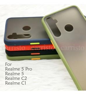 Realme 5 Pro Realme 5 Realme C1 C2 Phantom Series Back Casing Cover Case Colorful Housing