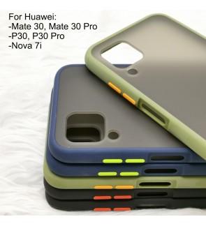 Huawei P30 Pro Mate 30 Pro Nova 7i Phantom Series Back Casing Cover Case Colorful Housing
