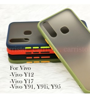 Vivo Y12 Y17 Y91 Y91i Y95 Phantom Series Back Casing Cover Case Colorful Housing