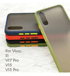 Vivo S1 V15 V15 Pro V17 Pro Phantom Series Back Casing Cover Case Colorful Housing