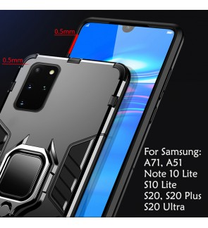 Samsung galaxy S20 Plus S20 Ultra A71 A51 S10 Lite Note 10 Lite Holder Case Cover Casing Full Protection Housing