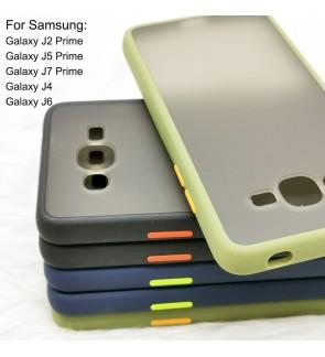 Samsung Galaxy J2 Prime J5 Prime J7 Prime J4 J6 Phantom Series Back Casing Cover Case Colorful Housing