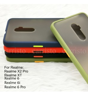 Realme X2 Pro Realme XT Realme 6 Pro Realme 6i Phantom Series Back Casing Cover Case Colorful Housing