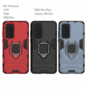 Huawei Y7P P40 P40 Pro P40 Pro Plus Honor 9X Pro Car Holder Case Cover Casing Full Protection Housing