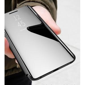 Oppo Reno 3 Oppo A91 Delight Mirror Flip Pouch Case Cover Casing Housing