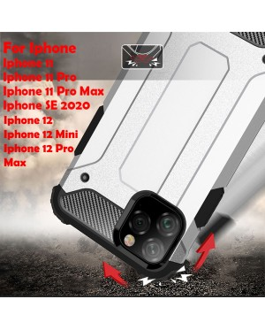 Iphone 11 Pro 11 Pro Max Iphone se 2020 Rugged Armor Protection Case Cover Hard Casing Shockproof Housing