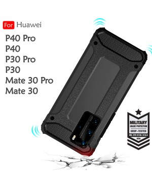 Huawei P30 P30 Pro P40 P40 Pro Mate 30 Mate 30 Pro Rugged Armor Protection Case Cover Hard Casing Shockproof Housing