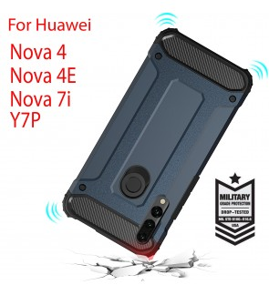 Huawei Nova 4E Nova 4 Nova 7i Y7P Rugged Armor Protection Case Cover Hard Casing Shockproof Housing