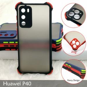 Huawei P30 P30 Pro Nova 4E Mate 30 P40 Phantom Shockproof Protection Case Housing Silicone Hard Back Cover Casing Camera