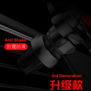 Carristo 3rd Generation 6 Point Gravitivity Mobile Phone Car Holder Clamped Grip Phone Stable