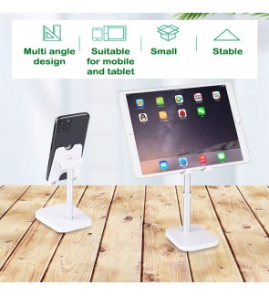 Desk Table Top Adjustable Premium Mobile Phone Holder Stand Suitable for Ipad Tablet Stable Live Tool Internet Celebrity