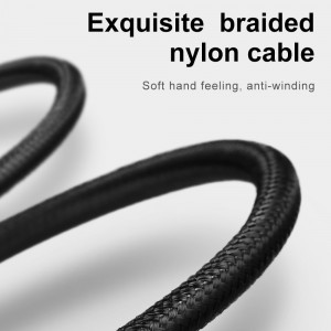 MCDODO Apple Lightning Charging  Data Cable With 2A For Ipad Iphone Wire Thicker Copper Nylon Braided Lighting Cable
