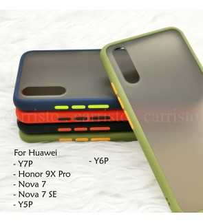 Huawei Y7P Honor 9X Pro Nova 7 Nova 7SE Y5P Y6P Phantom Series Back Casing Cover Case Colorful Housing