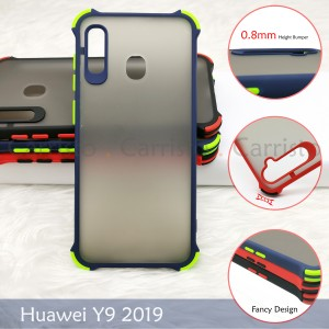 Huawei Honor 9X 7S 8S Y5 Y9 2019 Y9 Prime 2019 Phantom Shockproof Protection Case Housing TPU Hard Back Cover Casing