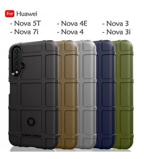 Huawei Nova 5T Nova 3 Nova 3i Nova 4 Nova 4E Nova 7i Rugged Shield Thick TPU Shockproof Case Cover Airbag Casing Housing