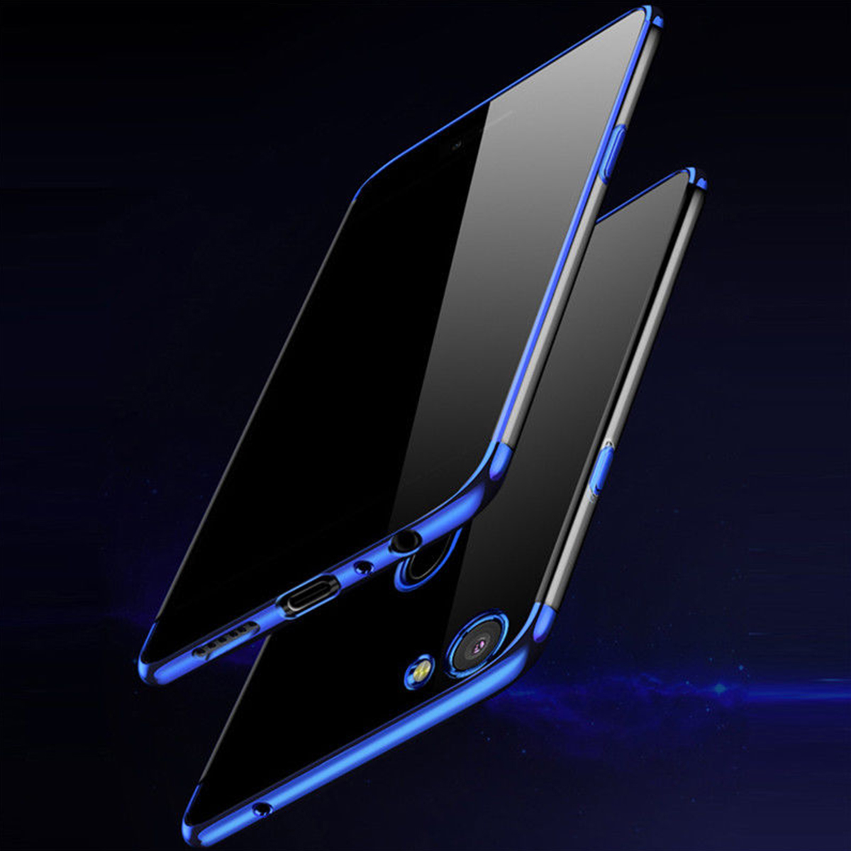Oppo F5 F7 A83 A71 A71K Electroplate Plating TPU Soft Case Cover Casing Housing
