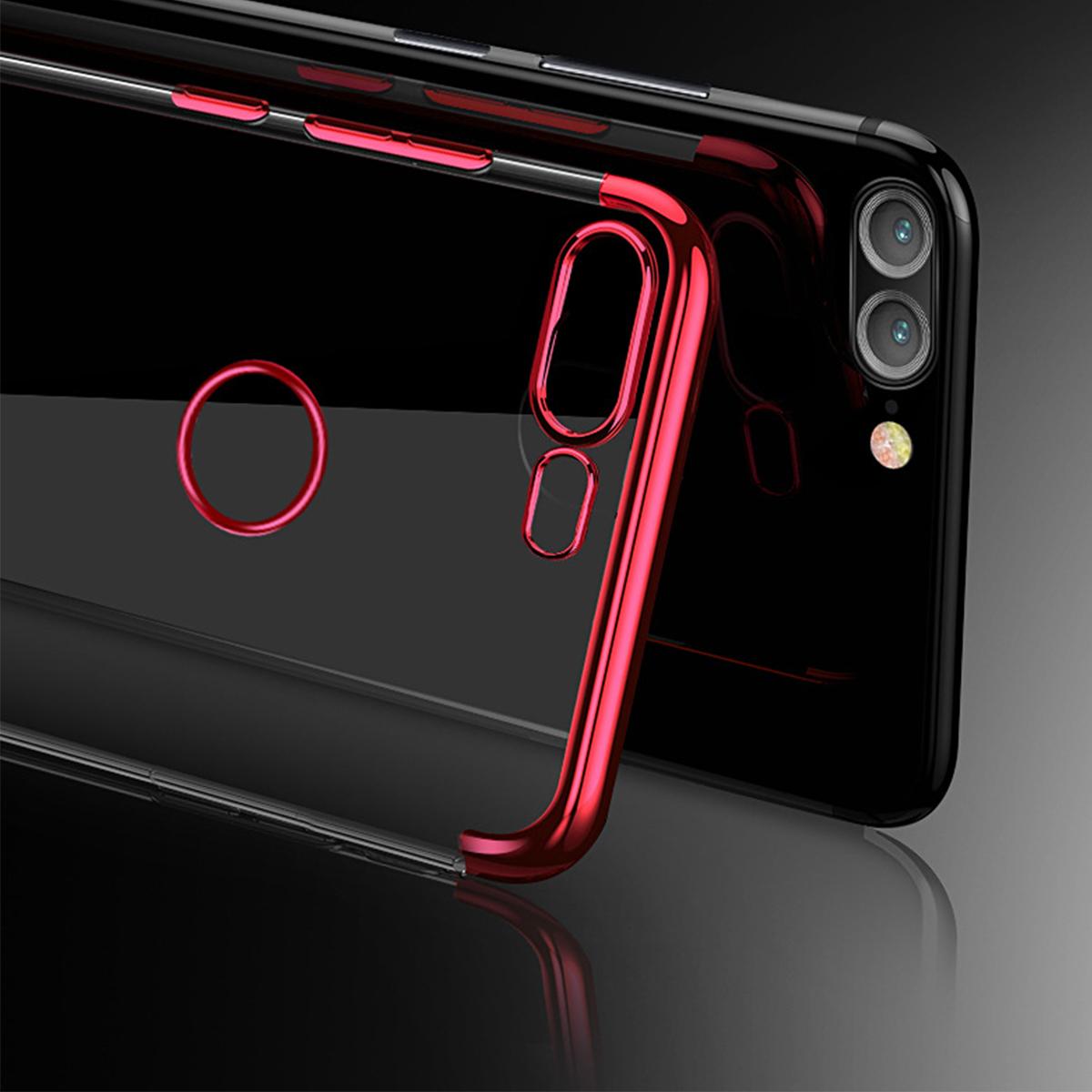 Huawei Nova 2i Honor 9 Lite Honor 7X V10 Plating TPU Soft Case Cover Casing